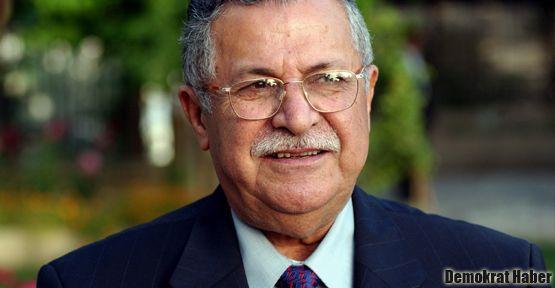 Celal Talabani Necmettin Kerim'in gözetiminde