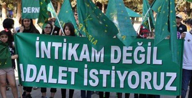 Çerkes soykırımı ve sürgünü Reyhanlı'da protesto edildi