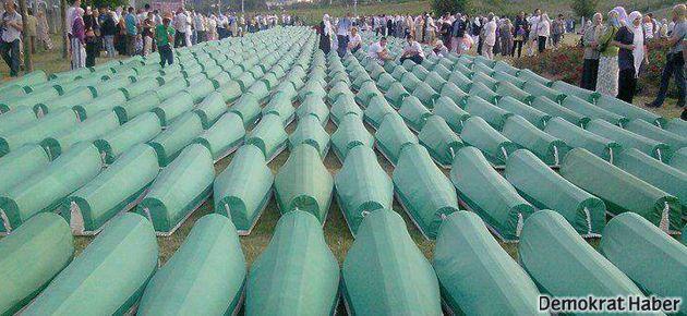 Çerkesler Srebrenitsa Katliamı'nı protesto etti