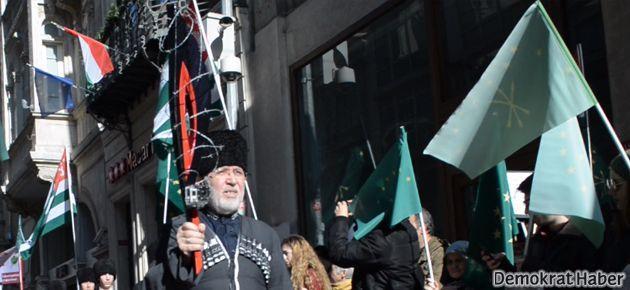 Çerkesler'den Rusya'ya 'Soykırım Meşalesi'