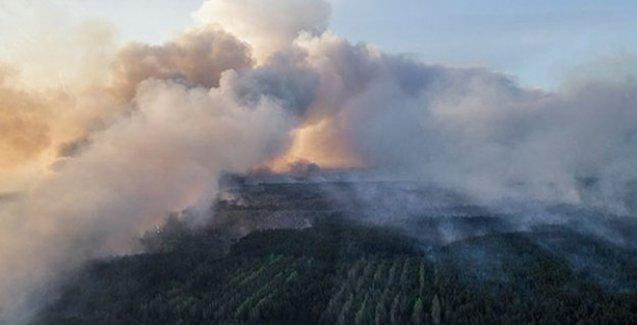 Çernobil'deki yangın durduruldu