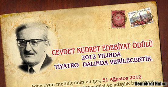 Cevdet Kudret Edebiyat Ödülü verildi