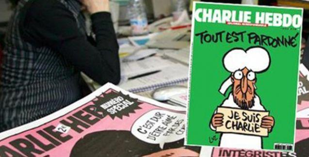Charlie Hebdo'dan katliam sonrası ilk kapak