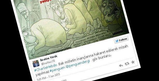 Charlie Hebdo'nun ardından Türkiye'de de Penguen hedef gösterildi!