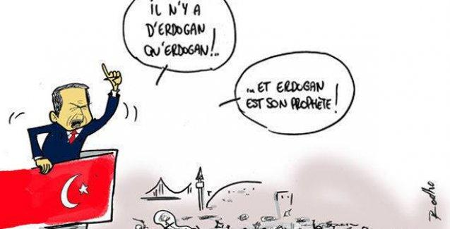 Charlie Hebdo'nun gözünden Türkiye gündemi