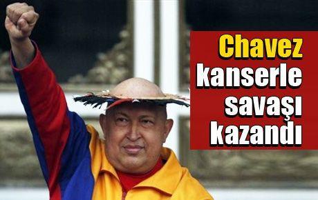 Chavez kanserle savaşı kazandı