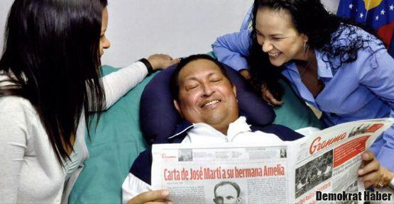 Chavez'den gülümseyen fotoğraflar