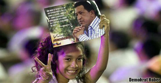 Chavez'in sağlığı 'iyiye gidiyor'