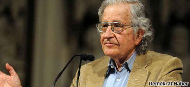 Chomsky: Her yer Taksim, her yer direniş!