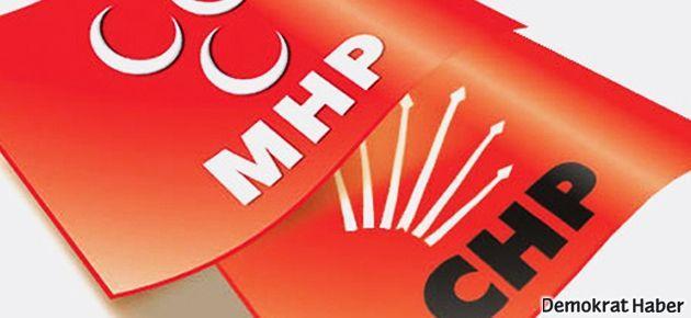 CHP adayı MHP adayı için yarıştan çekildi