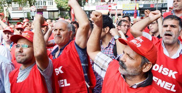 CHP'yi işgal eden BELTAŞ  işçileri gözaltına alındı
