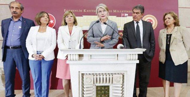 CHP'den istifa eden milletvekillerine tazminat davası