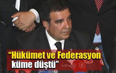 CHP: Hükümet ve Federasyon küme düştü