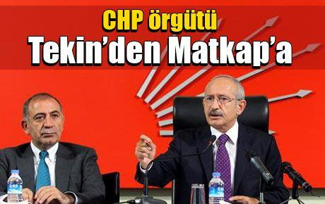 CHP örgütü Tekin'den Matkap'a