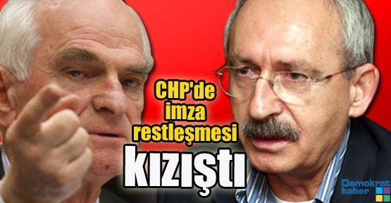 CHP'de imza restleşmesi kızıştı
