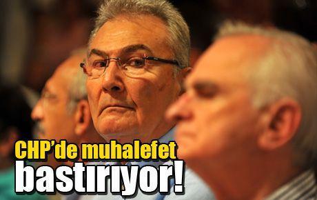 CHP'de muhalefet bastırıyor!