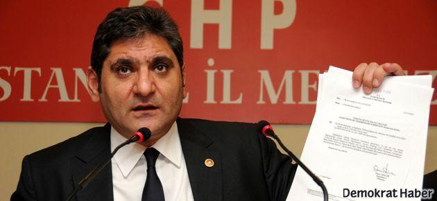 CHP'de 'yolsuzluk' istifası