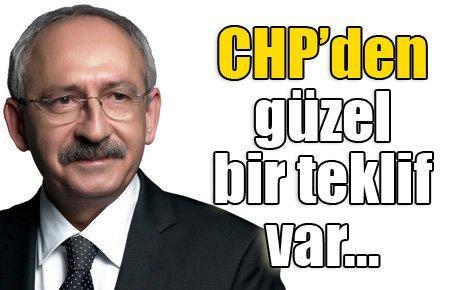 CHP'den güzel teklif