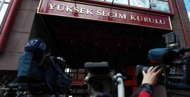 CHP'den YSK'ya yayın ihlali şikayeti