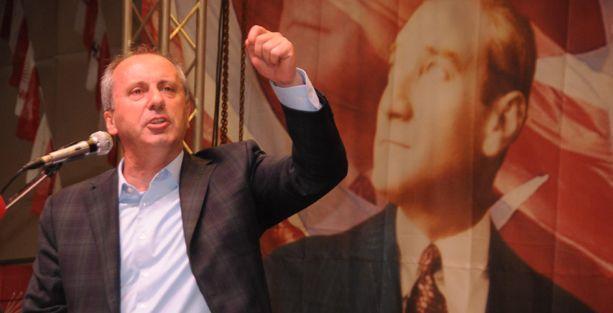 CHP'li İnce: İhsanoğlu'nu, solcular seçsin diye aday yapmadık