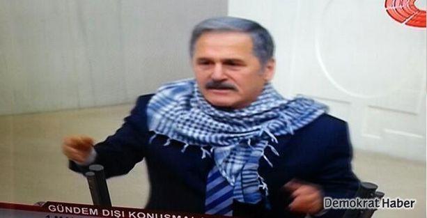 CHP'li vekilden mecliste puşili eylem
