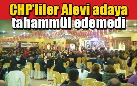 CHP'liler Alevi adaya tahammül edemedi