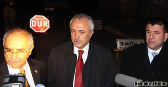 CHP'liler tutuklu BDP'li vekillerle görüştü