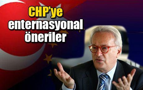 CHP'ye enternasyonal öneriler