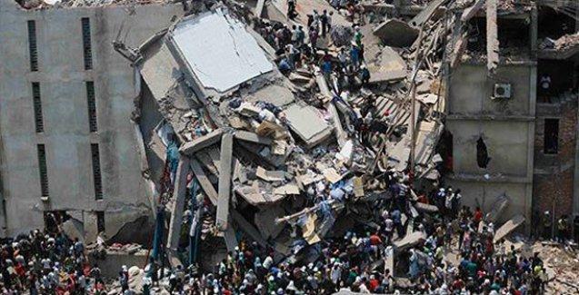 Çimento fabrikası çöktü: 4 ölü, 100 kişi göçük altında