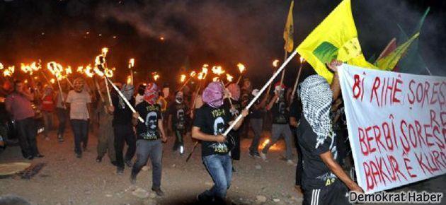 Cizre'de 'Rojava' çatışması