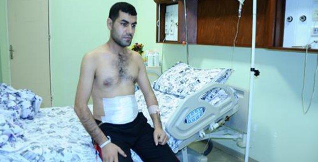 Cizre'de, Ümit Kurt'un vurulduğu yerden yaralı kurtulan Sakçak: Beni polis vurdu