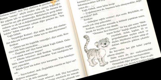 Çocuklara dağıtılan kitapta 'Kadını erkeğin kölesi yapmanın' yolları anlatılıyor!