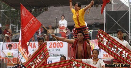 Cordillera yerlileri de 'Öcalan'a özgürlük' diyor