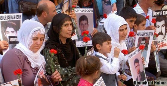 Cumartesi Anneleri 388. kez 'Barış' dedi