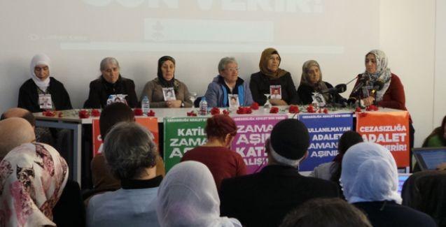 Cumartesi Anneleri'nden 'Cezasızlığa son, adalet istiyoruz' kampanyası