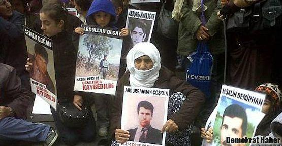 Cumartesi İnsanları Dargeçit'te gözaltında kaybedilenleri andı