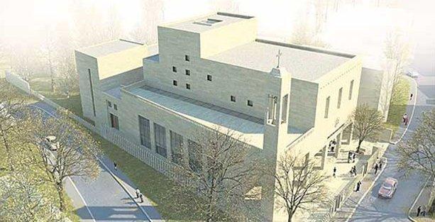 Cumhuriyet tarihinin ilk Süryani kilisesi Yeşilköy'de yapılacak