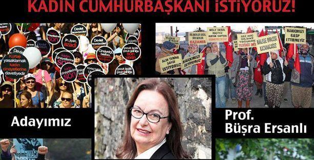 Cumhurbaşkanı adayları Büşra Ersanlı!