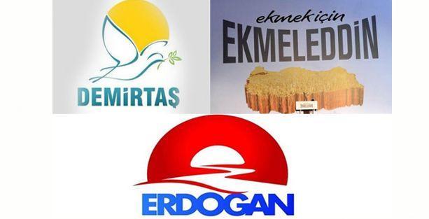 Cumhurbaşkanı adaylarının logoları ne anlatıyor?