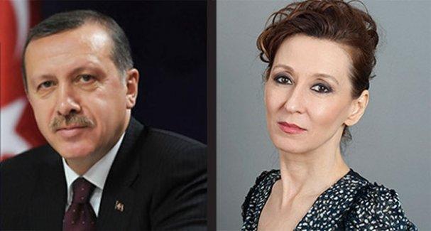 Cumhurbaşkanı Erdoğan,  tiyatrocu Defne Halman'ı hedef gösterdi!