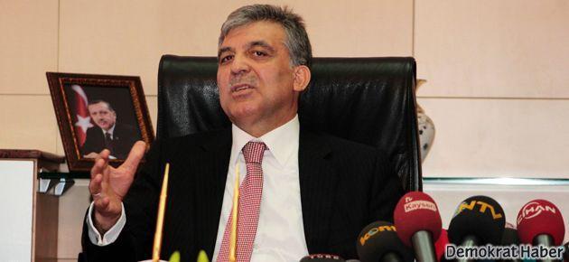 Cumhurbaşkanı Gül'den başkanlık sistemine yeşil ışık