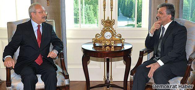 Cumhurbaşkanı, Kılıçdaroğlu'nu kabul etti