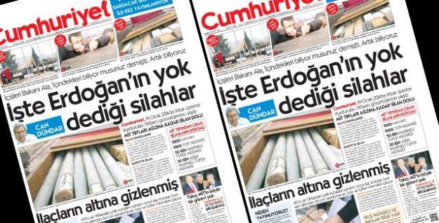 Cumhuriyet'ten MİT TIR'ları soruşturmasına yanıt: Susmak yok!