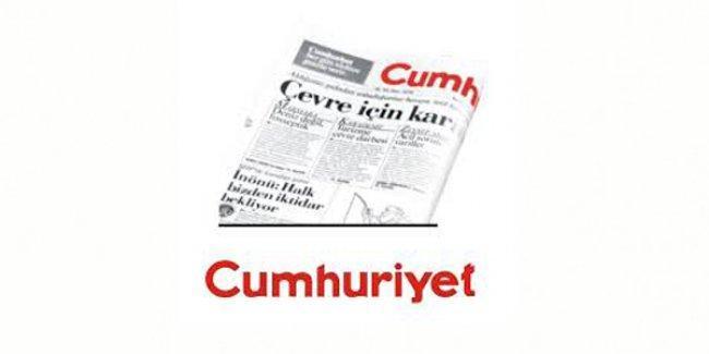 Cumhuriyet'te gazetenin başına gelen isim belli oldu