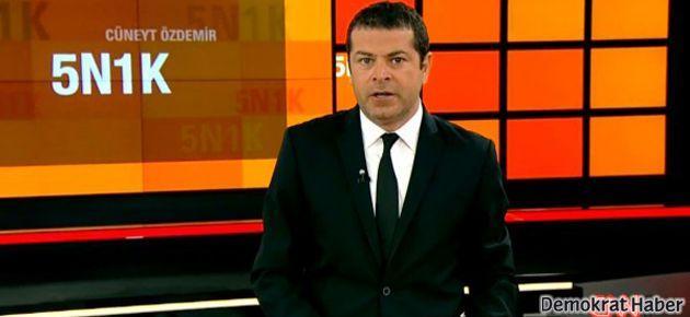 Cüneyt Özdemir Başbakan'ın konuşmasını kesti