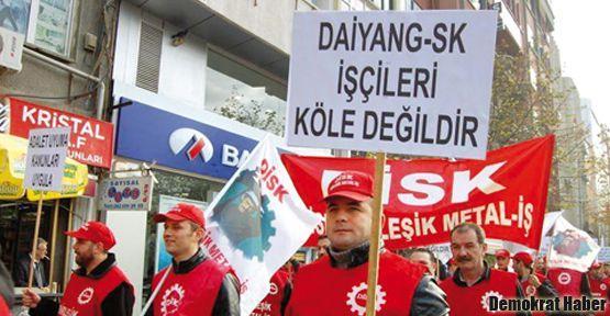 Daiyang işçileri açılık grevine başlıyor