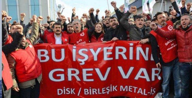 Danıştay, ertelenen metal grevi için Başbakanlık'tan savunma istedi