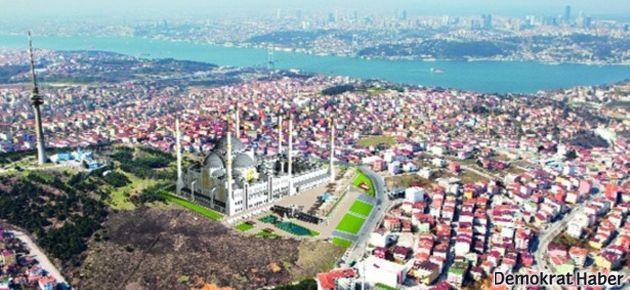 Davası süren Çamlıca Camii'nin temeli atıldı