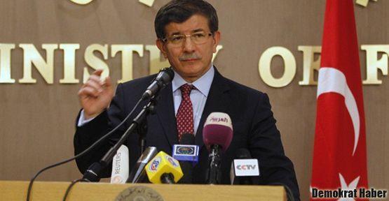 Davutoğlu: İsteriz ki Kürtler Suriye'de etkin olsun