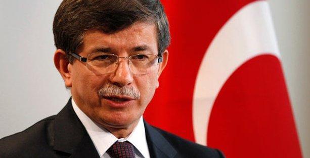 Davutoğlu yine HDP ve CHP'yi hedef gösterdi!